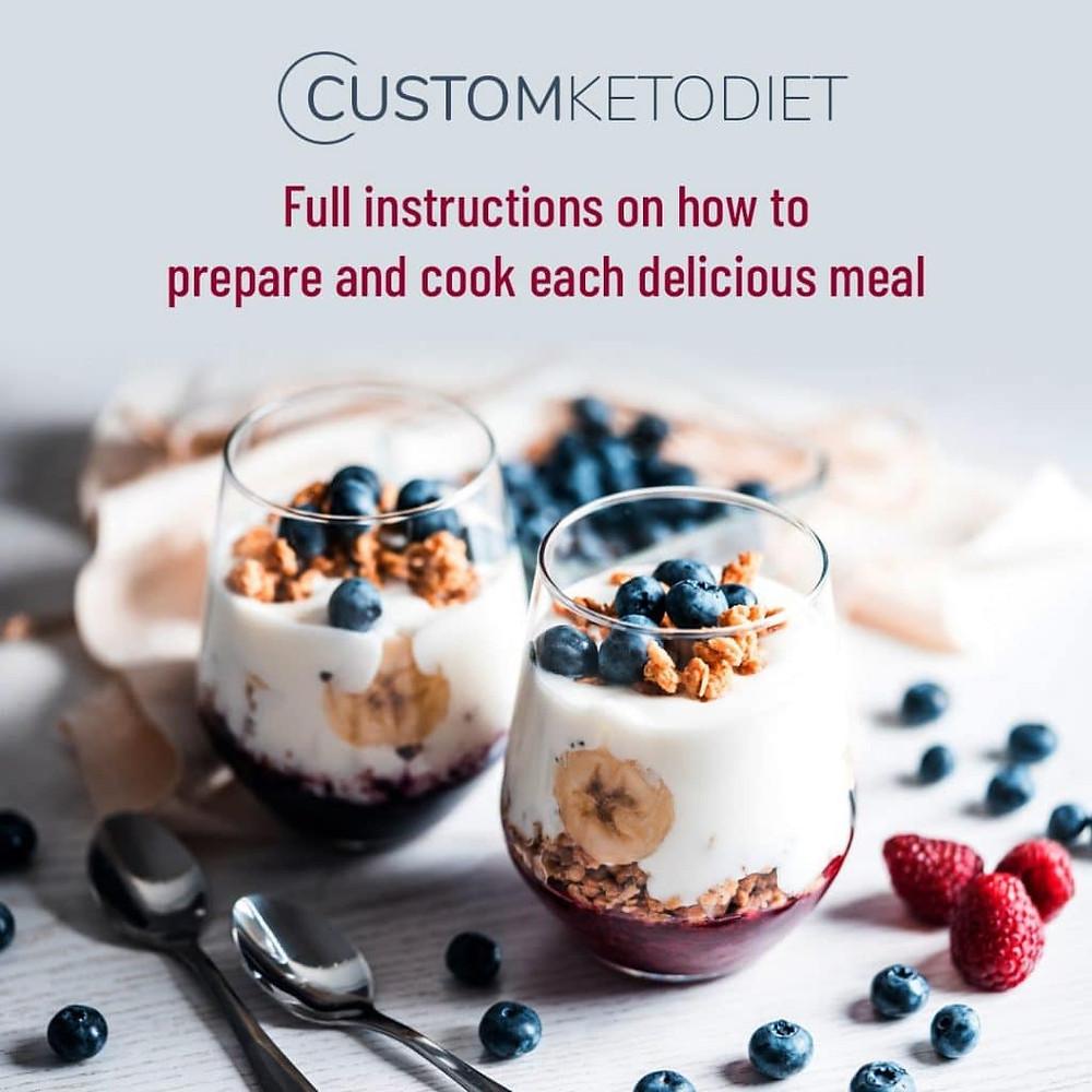 custom keto diet review dessert