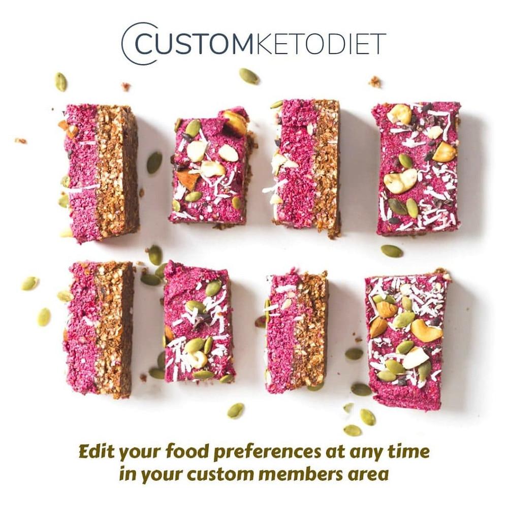 custom keto diet snacks