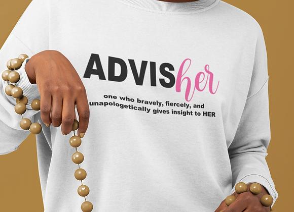 AdvisHER Sweatshirt