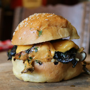 The Funghi Bun with Cheese