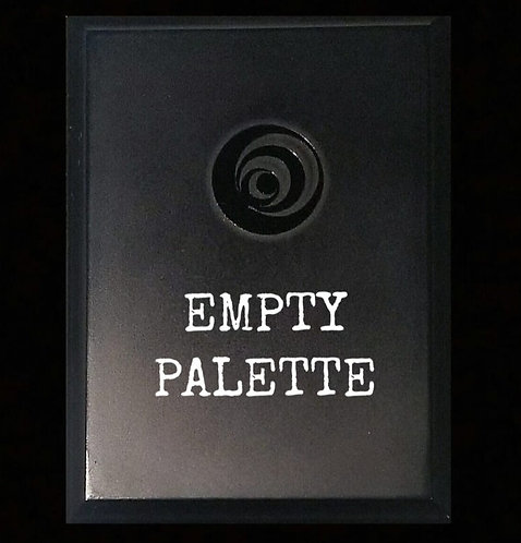 EMPTY MAGNETIC PALETTE W/ MIRROR