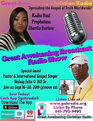 Copy of Radio Talk Show Flyer - Made wit