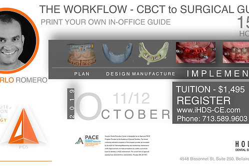 CBCT & Guide Printing