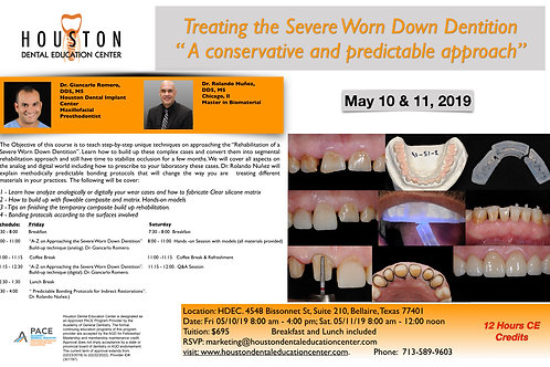 Treating the Severe Worn Down Dentition
