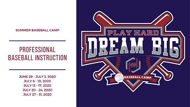Summer Baseball Camp Baseball Camp 2020.