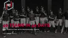 40 Little League Teams In 40 Days