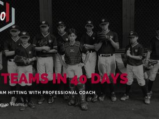 40 Little League Teams In 40 Days