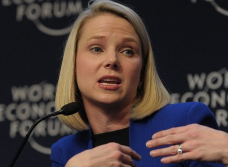 Marissa Mayer goes headfirst off the Glass Cliff