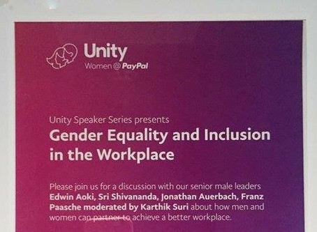 PayPal and the Gender Equality Flyer
