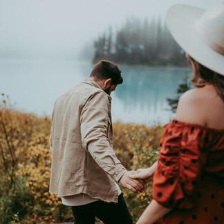 Dreamy Emerald Lake Love Session | British Columbia Photographer