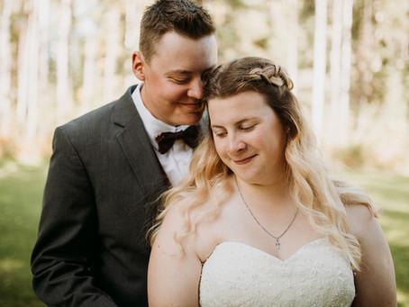 Megan + Seth | September 8, 2018 | Edson Alberta Wedding Photographer
