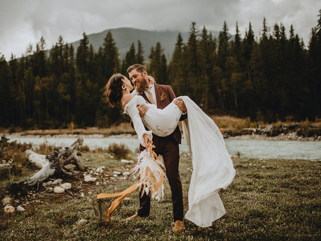Intimate Elopement in Golden, British Columbia | Catherine + Michael
