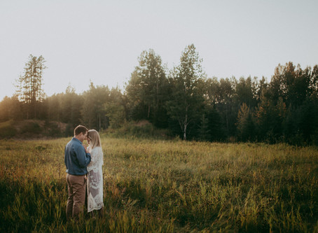Christa + Craig | Edson Alberta Engagement Session