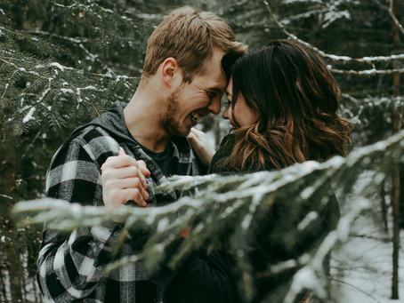 Justine + Darwin | Chilly Winter Love Shoot