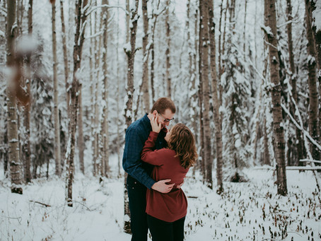 Skylar + Patrick | Edson Alberta Wedding Photographer