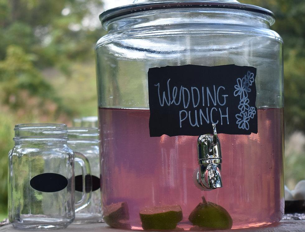 Glass Punch Dispenser