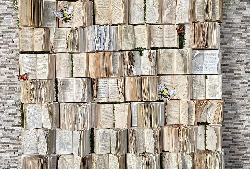 Book Wall Backdrop