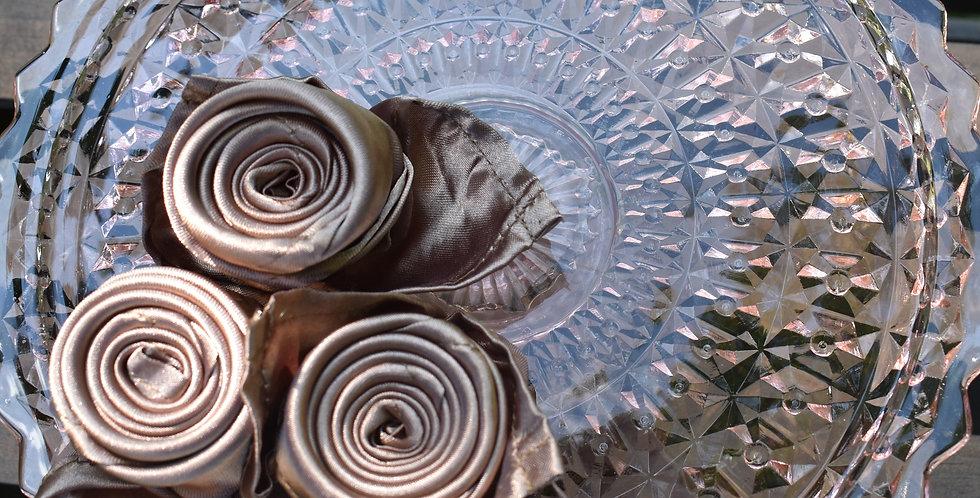 Chocolate Brown Satin Napkins