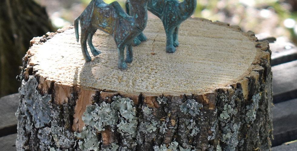 Patina Copper Figurines