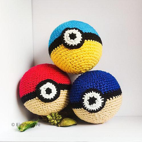 Pokemon Ball Combo Of 3