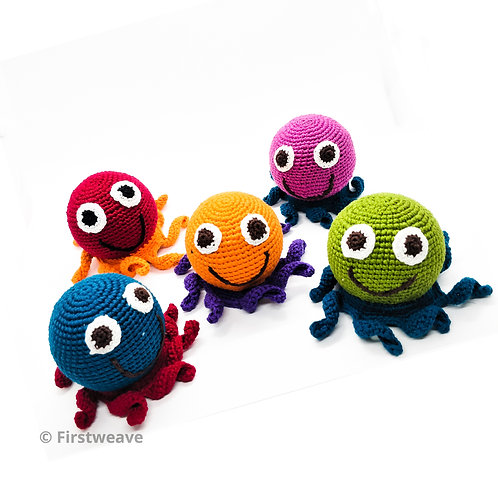 Octopus Rattle Combo Set Of 5