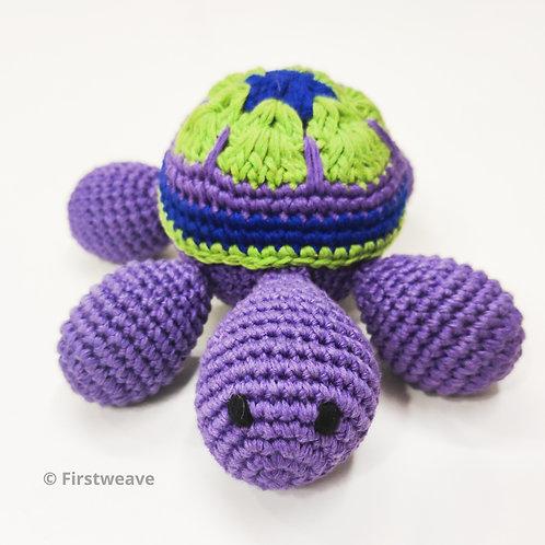 Turtle Rattle Purple