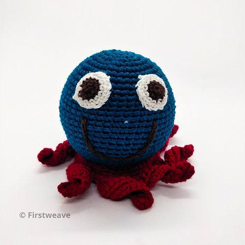 Octopus Rattle Blue