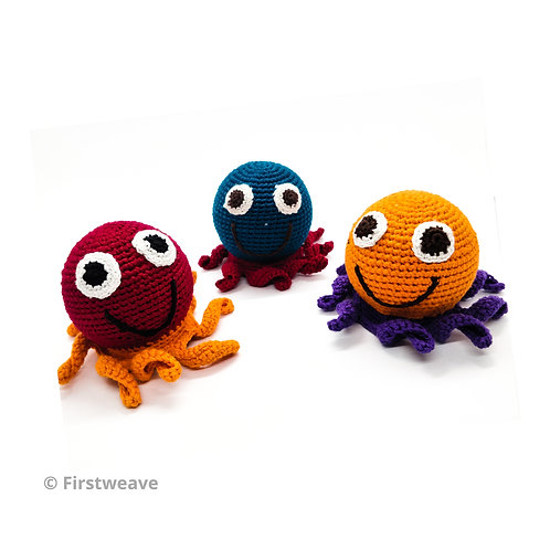 Octopus Rattle Combo Set Of 3