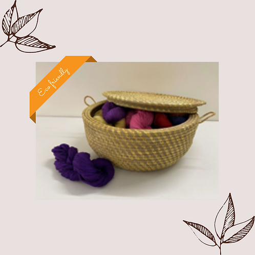 Container Basket with Lid - Small
