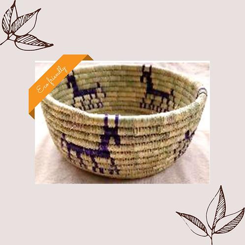 Animal Motif (Horse) Basket
