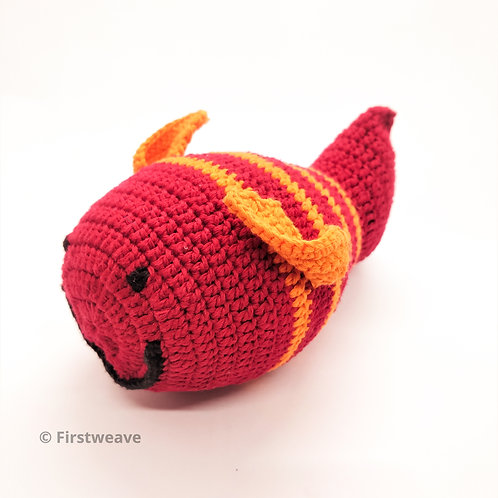 Fish Rattle Red