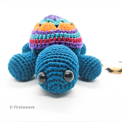 Turtle Rattle Blue