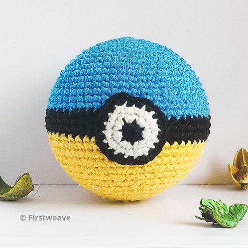 Pokemon Ball Yellow Blue