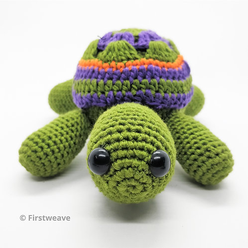 Turtle Rattle Green