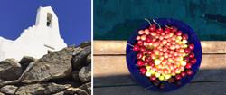 Fresh fruits on board