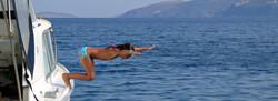 Swim, dive, snorkel and canoo