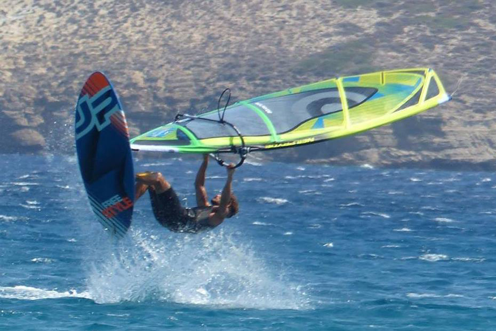 Windsurfing Trips to Pateronissia