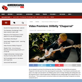 "Americana UK Premiere's ""Chaparral"" Music Video"