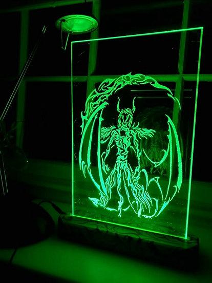 Ulquiorra Glass Light