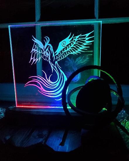 Phoenix Glass Light
