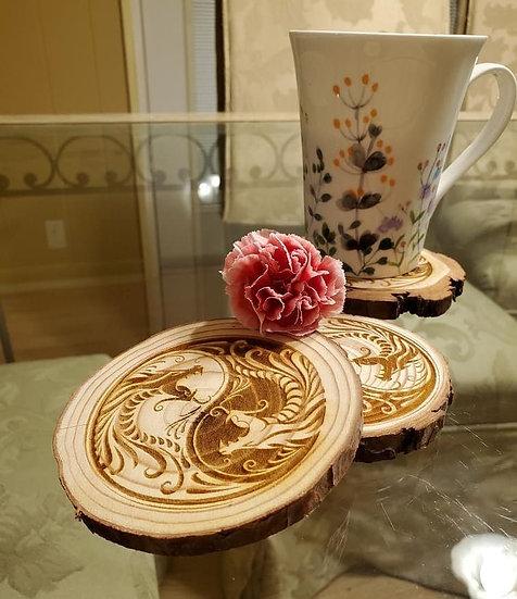 Engraved Coasters 4 Pack