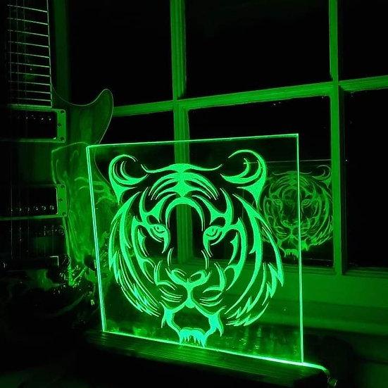 Tiger Glass Light