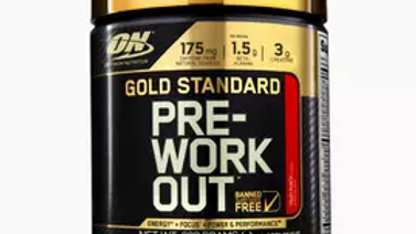 Gold standard PWO,  330gr.  30 Servings
