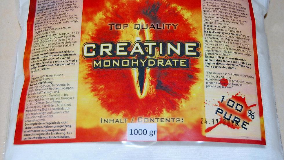 Creatin Monohydrat (80 mesh) 1000gr