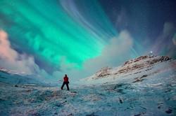 X-class Aurora, Iceland