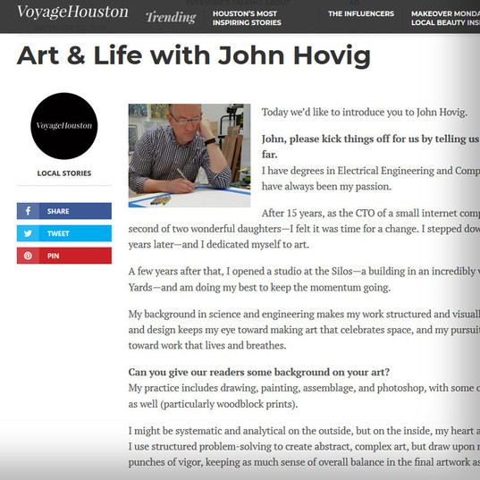Art & Life with John Hovig