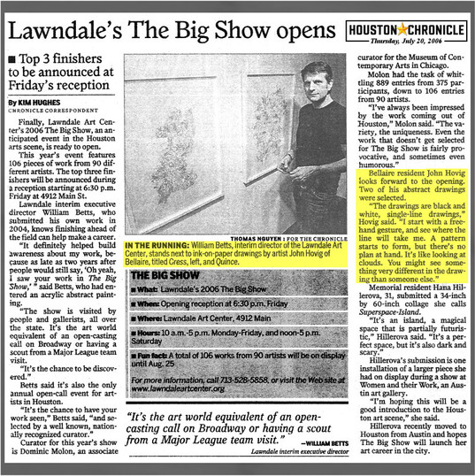 Lawndale's The Big Show opens