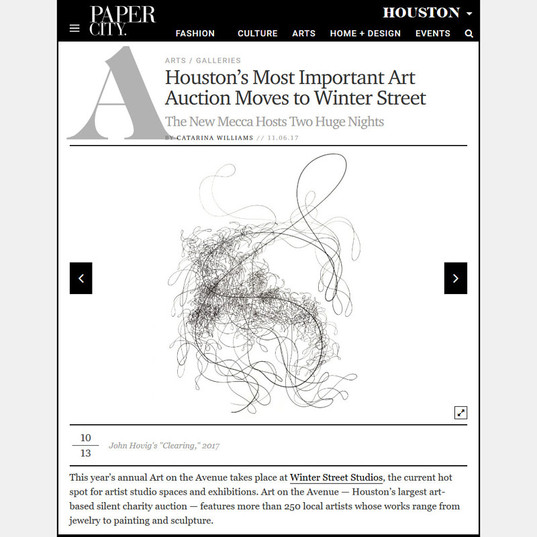 Houston's Most Important Art Auction Moves to Winter Street