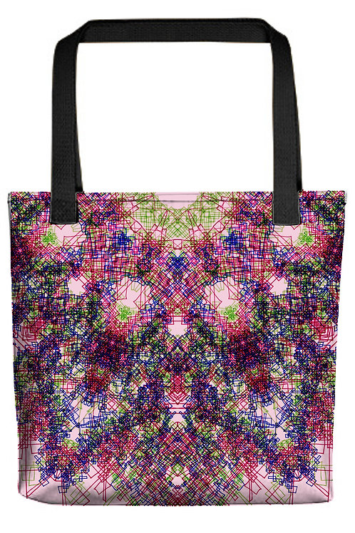 Color Mandala Tote Bags