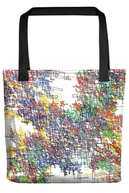 Linework Tote Bags